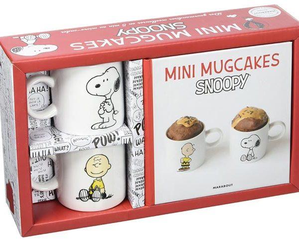 Coffret mug cake snoopy